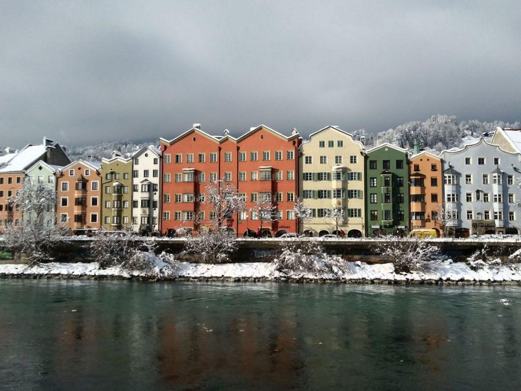 Der Inn in Innsbruck © Alica Schattan