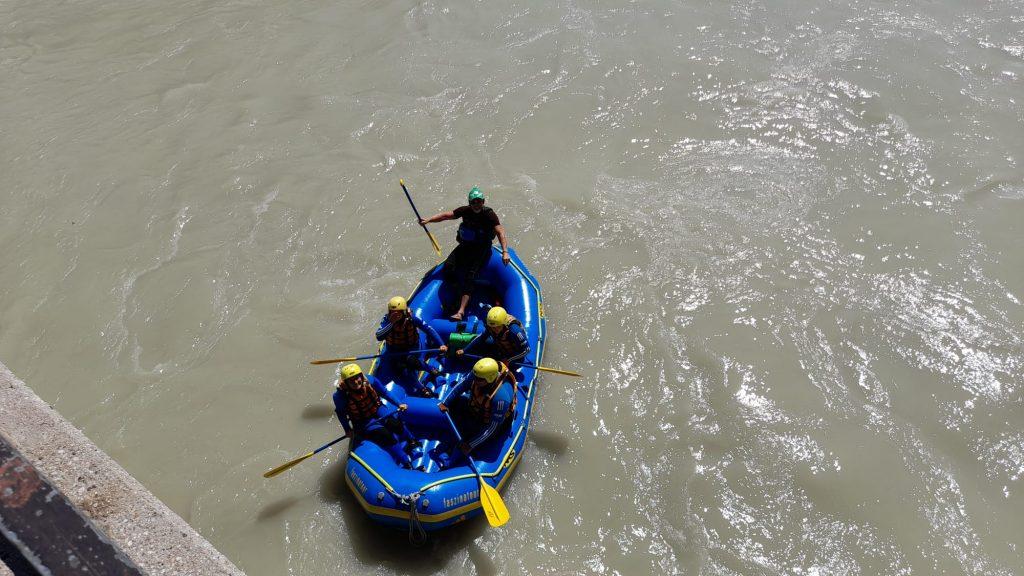 """Rafting-Tour """"Move INN noe"""" © Lisa Reggentin"""